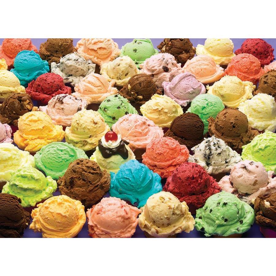 Crèmes glacées - 1000 pièces-1