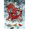 Cobble Hill Oiseaux dans la neige - 1000 pièces