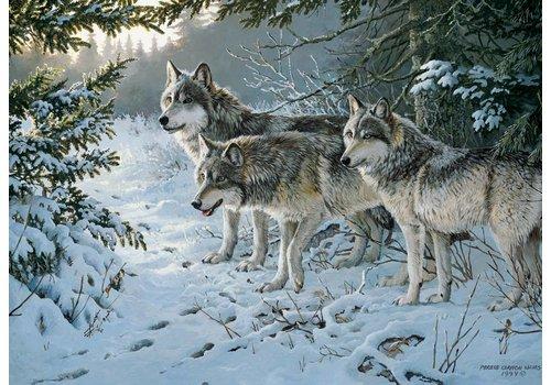 Het spoor van de wolf - 1000 stukjes
