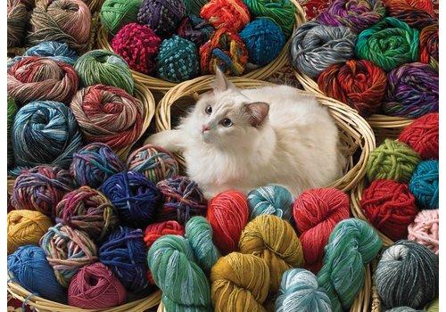 Cobble Hill Puss en laine - 1000 pièces