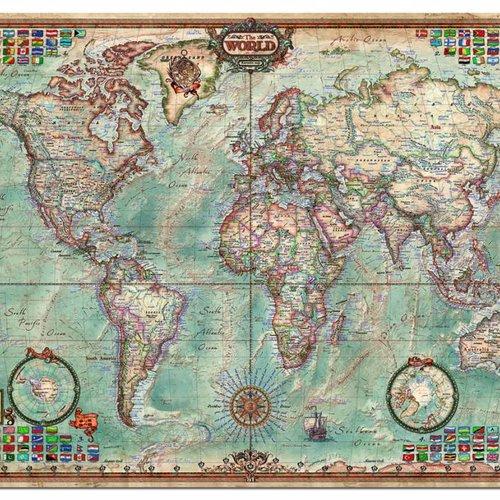 Astrologie et cartes du monde