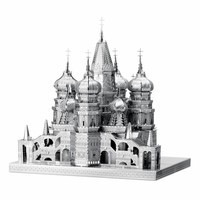 thumb-St. Basil Cathedral - Iconx 3D-puzzel-1