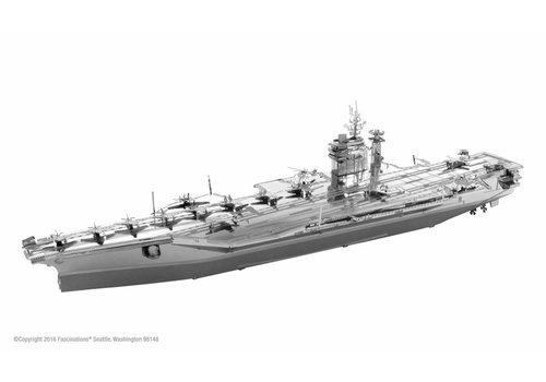 Metal Earth USS Roosevelt Carrier - Iconx puzzle 3D