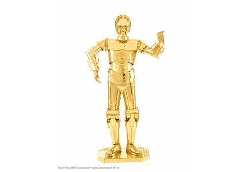Star Wars C-3PO GOLD - 3D-puzzel