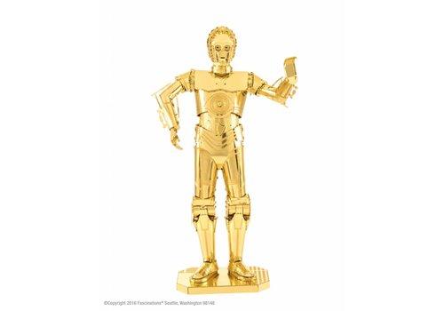 Metal Earth Star Wars C-3PO GOLD - puzzle en 3D