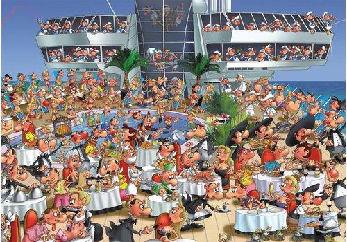 Op Cruise - Comic - 1000 stukjes
