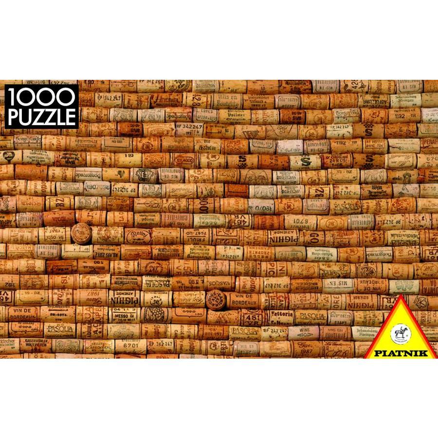 Bouchons de vin - Puzzle de 1000 pièces-1