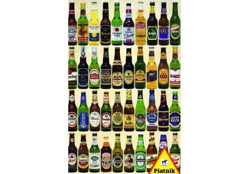 Les bouteilles de bière - 1000 pièces