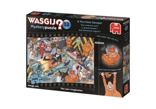 Wasgij Mystery 13 - No escape - 1000 pieces