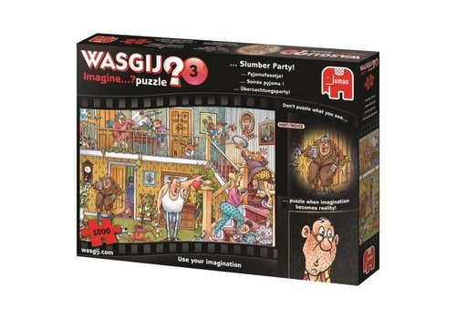 Wasgij Imagine 3 - puzzel 1000 stukjes