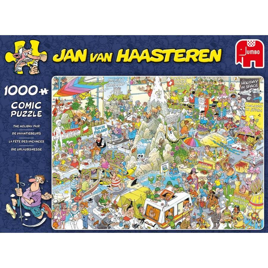 De Vakantiebeurs - Jan van Haasteren - 1000 stukjes-1
