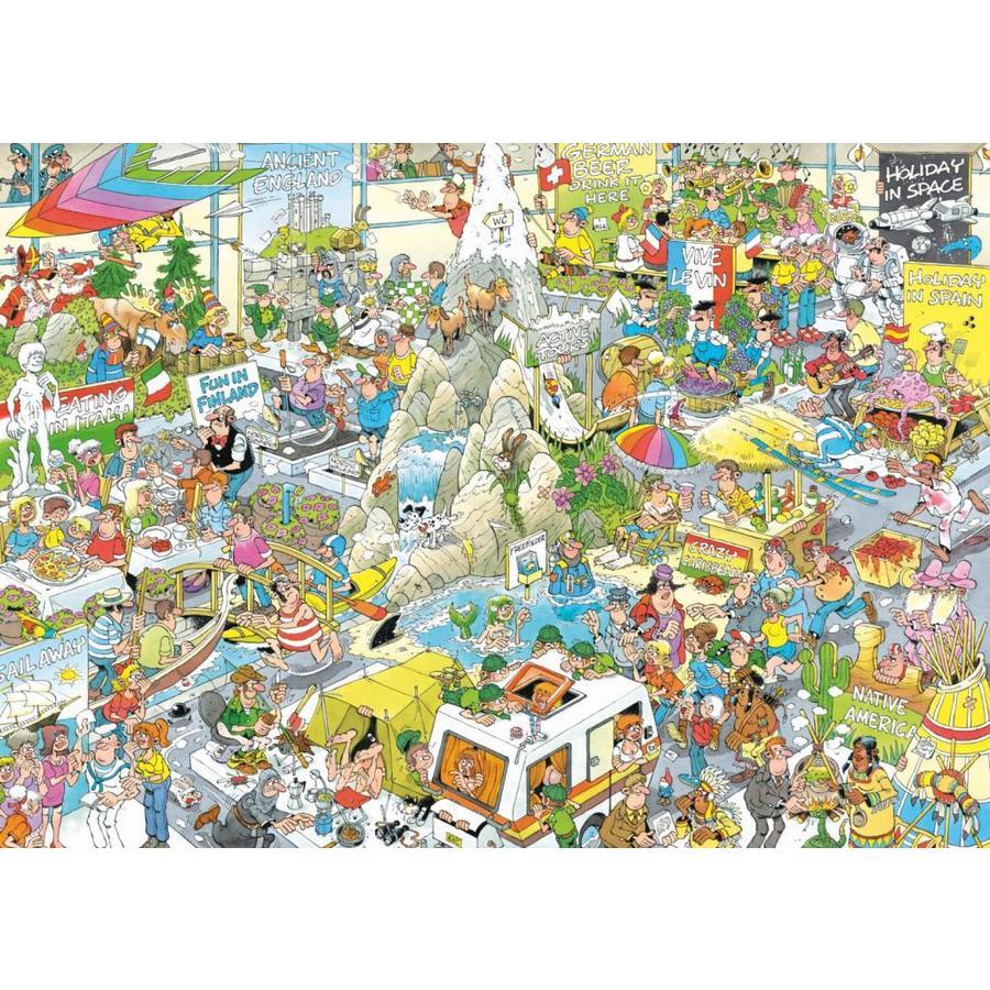 De Vakantiebeurs - Jan van Haasteren - 1000 stukjes-2