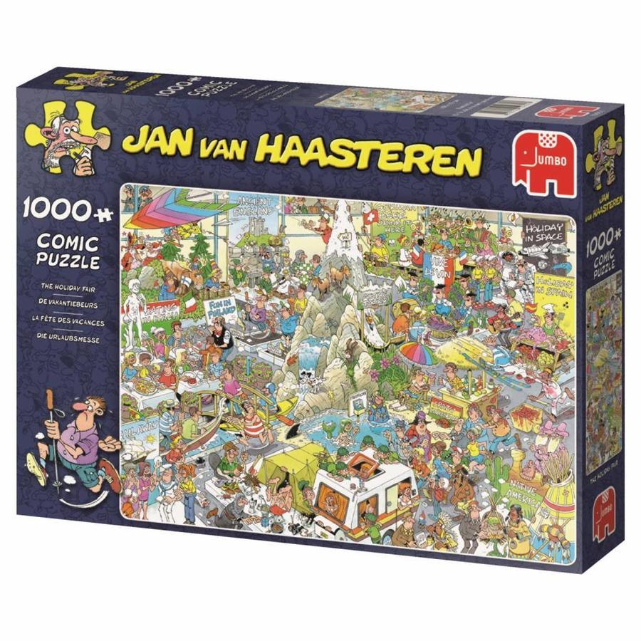 De Vakantiebeurs - Jan van Haasteren - 1000 stukjes-4