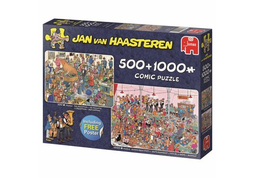 Parties - JvH - 1000 + 500 pieces