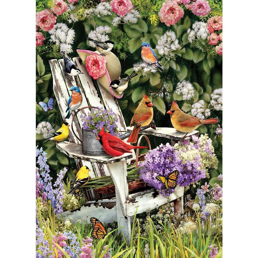 Vogels in de zomer - 1000 stukjes-1