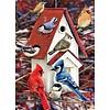 Cobble Hill Winters vogelhuisje - 1000 stukjes