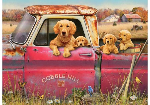 Cobble Hill Samen in de auto - 1000 stukjes