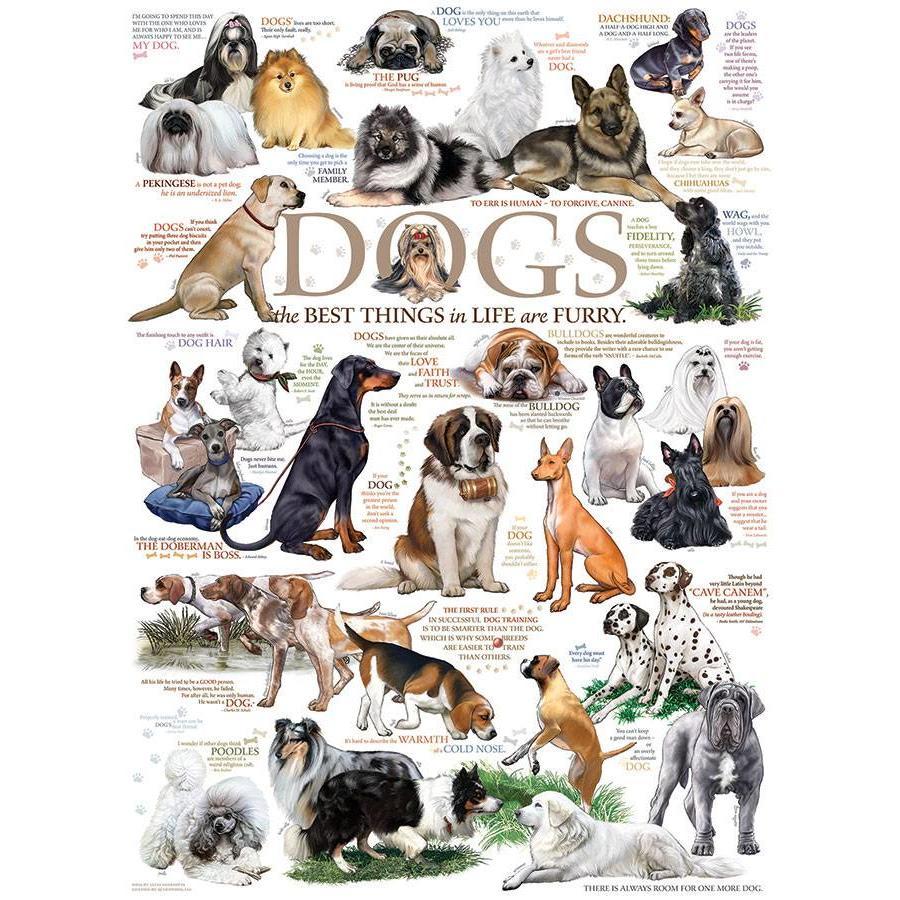 Honden Citaten - 1000 stukjes-1