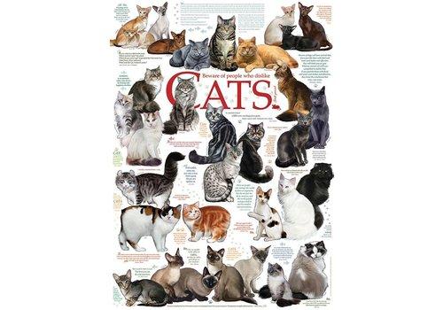Cobble Hill Katten Citaten - 1000 stukjes