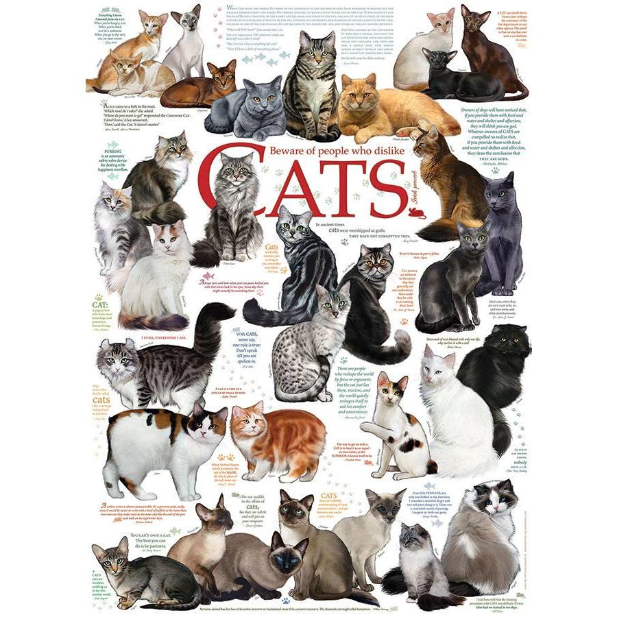 Cats Quotes - 1000 pieces-1