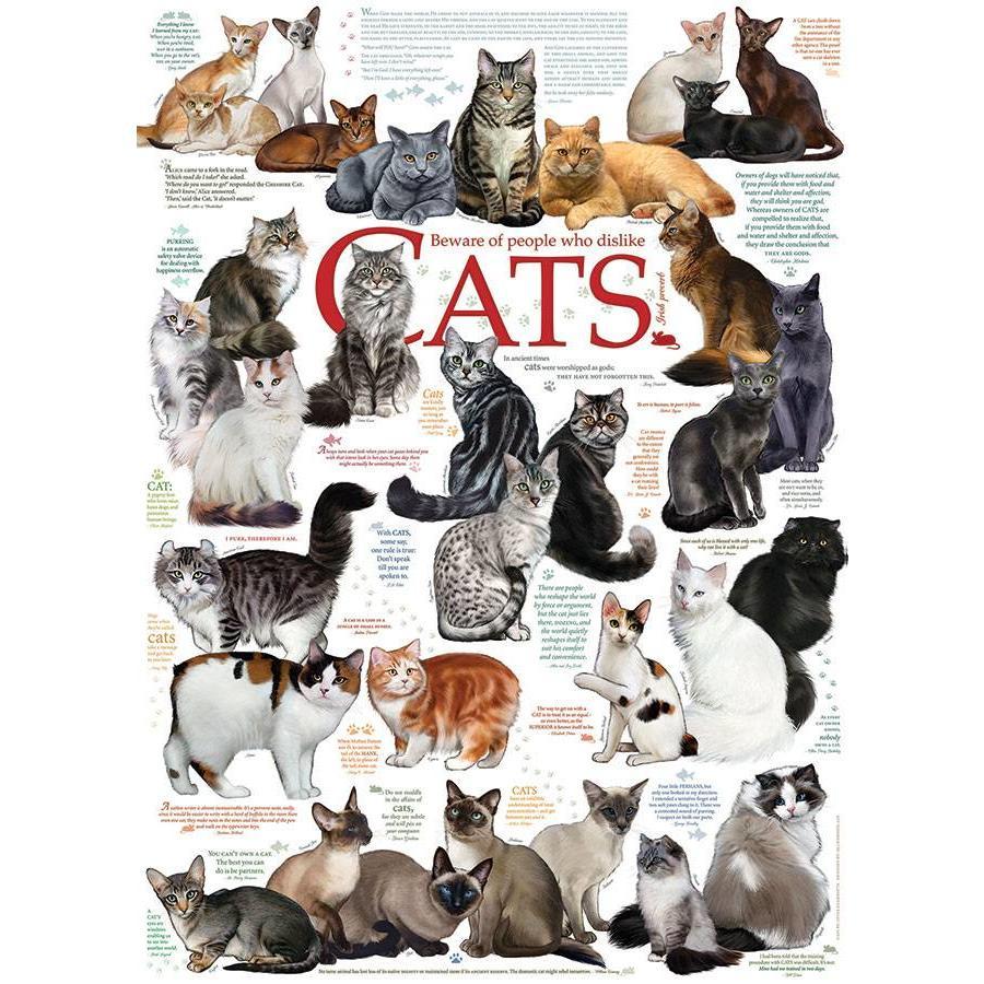 Katten Citaten - 1000 stukjes-1