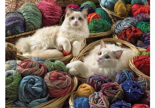chats laineux - 275 pièces XXL