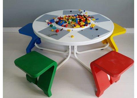 5-zits tafel (tweedehands)