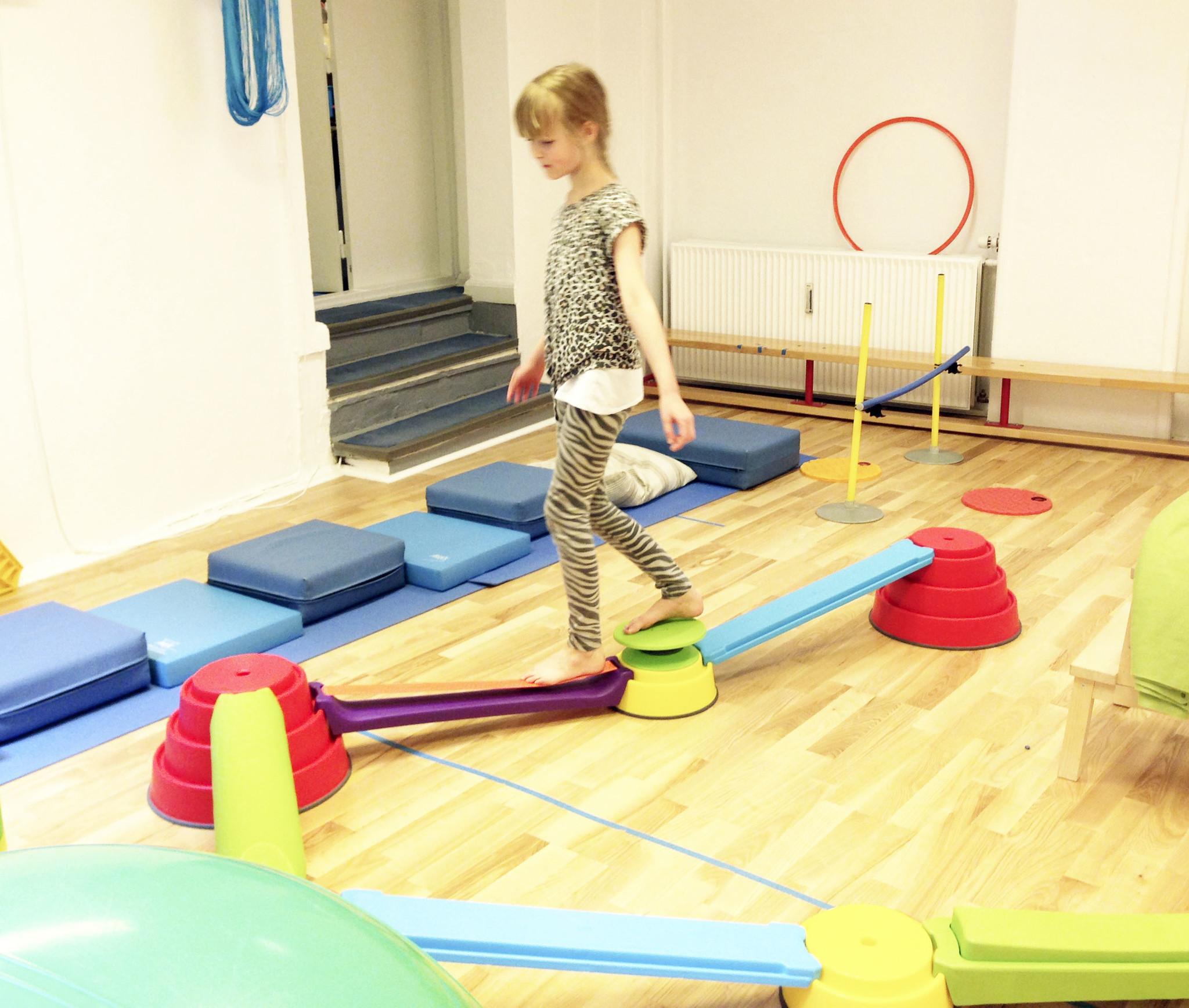 Balanceren gymles - de leukste balans spellen voor gym