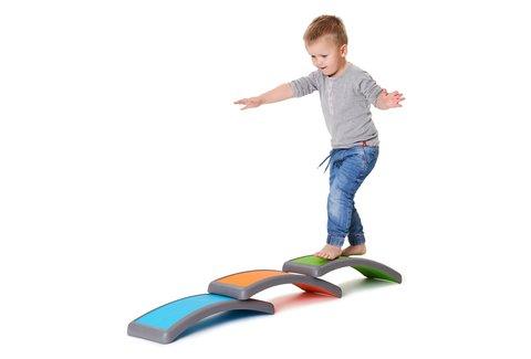 Balansbord kind - Gonge balans bogen set van 3