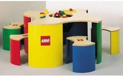 LEGO Speeltafel met vier krukjes