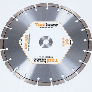Toolbozz Topline hand diamantzaag droog beton ø300mm/20mm