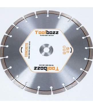Toolbozz Topline Diamantzaag droog beton ø300mm/20.0mm