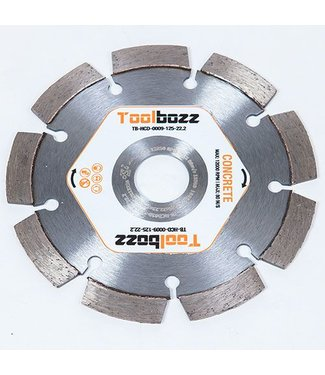 Toolbozz Topline Diamantzaag ø125 mm droog beton