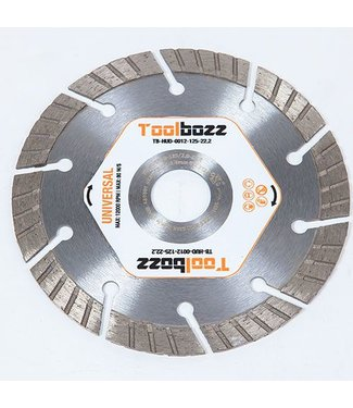Toolbozz Topline Diamantzaag ø125 mm droog universeel