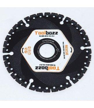 Toolbozz Topline Rescueblad ø125mm