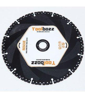 Toolbozz Topline Rescueblad ø230mm