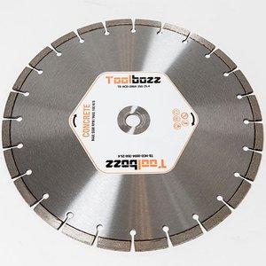 Toolbozz Topline hand diamantzaag droog beton ø350mm/25,4mm