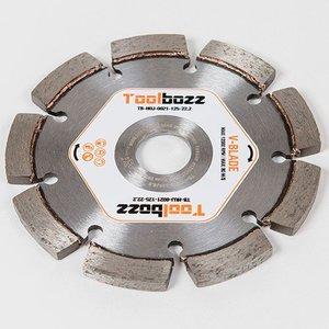 Toolbozz Topline Voegenblad 6,3mm