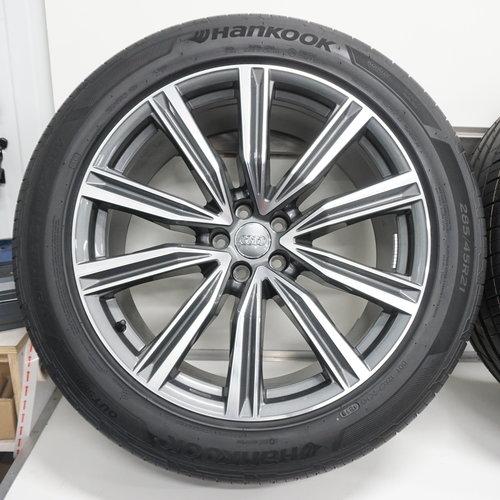 Audi Audi Q8 4M TDI S-line 21 inch velgen + Zomerbanden Hankook NIEUW Origineel