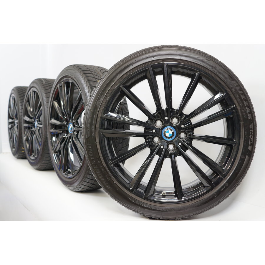 BMW BMW i8 20 inch velgen 516 + Winterbanden Bridgestone 7MM Origineel BMW