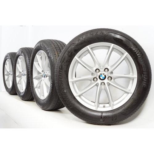 BMW BMW X3 X4 G01 18 inch 618 M Velgen + Zomerbanden Bridgestone ZGAN Runflat Origineel