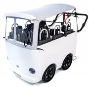 Weber Kinderbus 6 zits wit Elektrisch