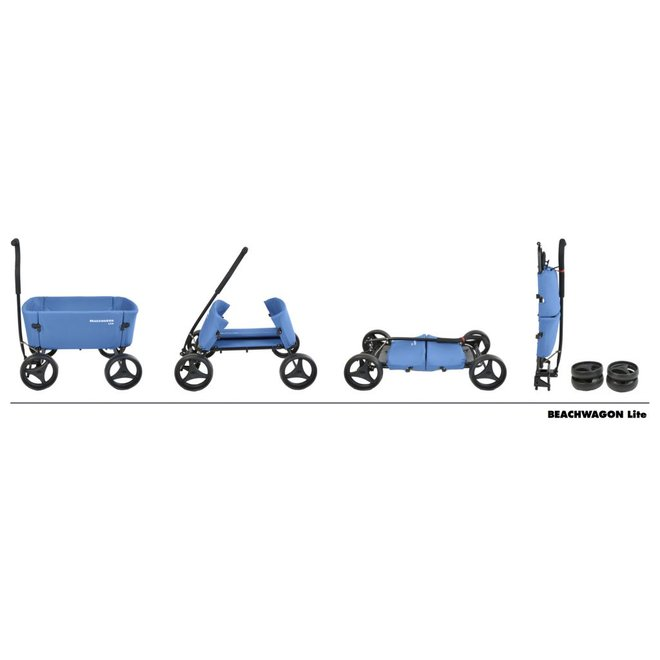 Beach Wagon Lite Antraciet Grijs