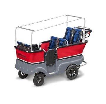 Winther E-Turtle Kiddy bus 6-zits - Elektrisch