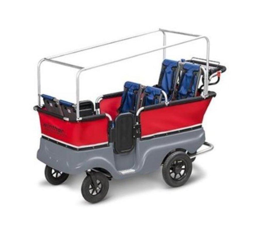 E-Turtle Kiddy bus 6-zits - Elektrisch