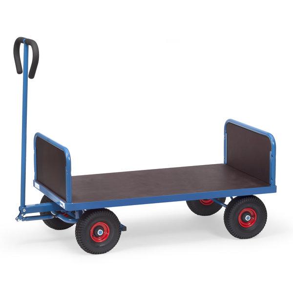 Transport Bolderkar met kopwanden