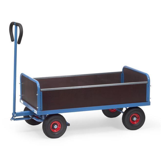 Transport Bolderkar met insteek zijwanden