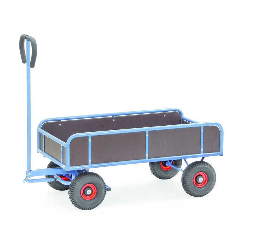 Transport Bolderkar met wanden