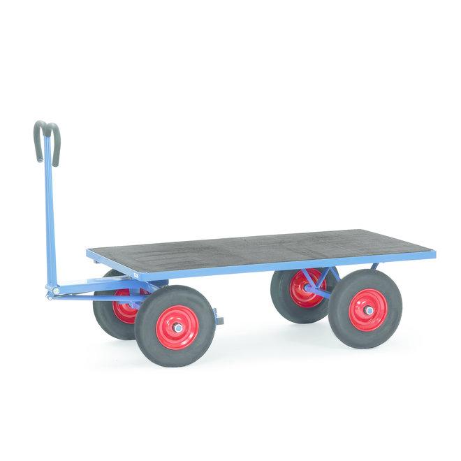 Transport Bolderkar met XL  wielen