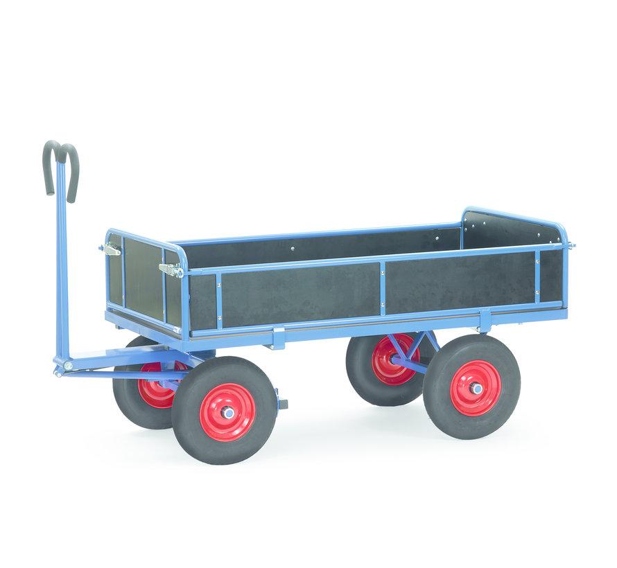 Transport Bolderkar XL met inklapbare zijwanden